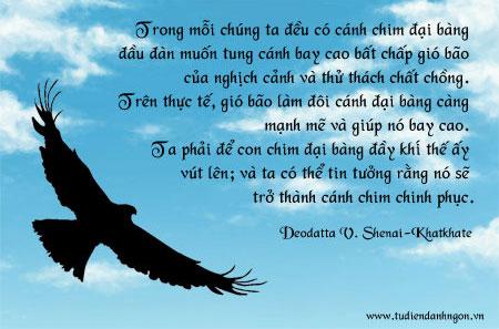 Danh ngôn về hoài bão, danh ngôn của Deodatta V. Shenai-Khatkhate