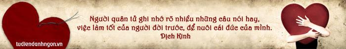 www.tudiendanhngon.vn - Danh ngôn về Bản thân