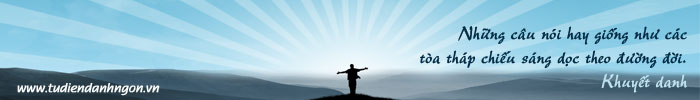 www.tudiendanhngon.vn - Danh ngôn về Hành động