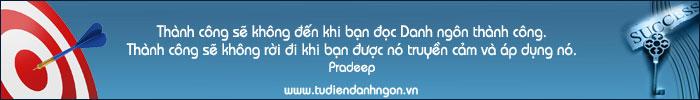 www.tudiendanhngon.vn - Danh ngôn về Thành công